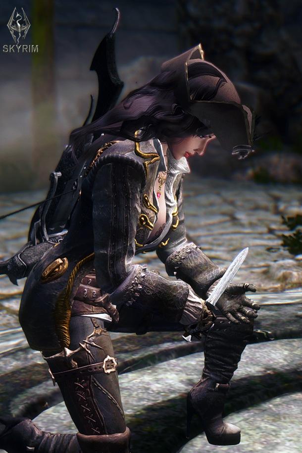 014. Кровь ГГ - ключ к стене Алдуина.jpg - Elder Scrolls 5: Skyrim, the CBBE, Сборка-21