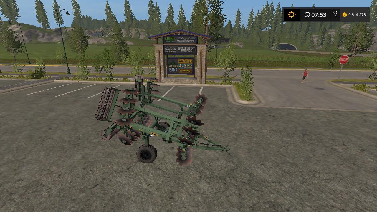 Культиватор - Farming Simulator 17 Мод, Транспорт
