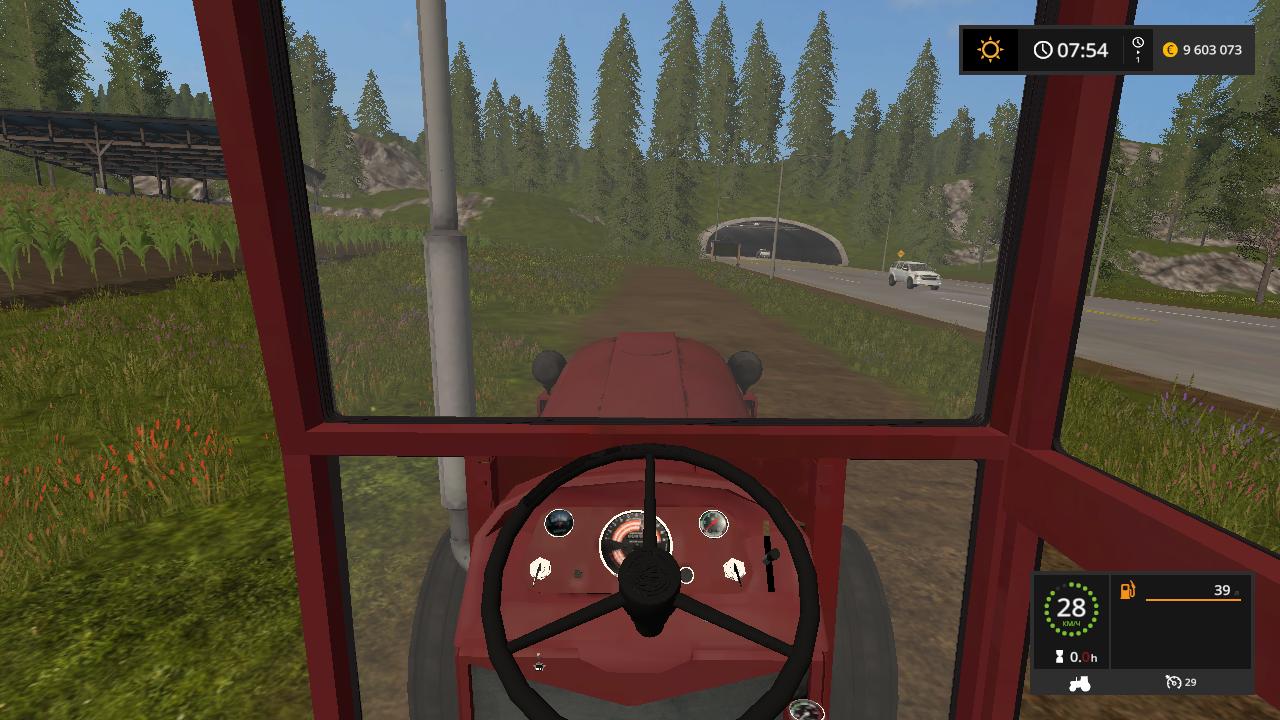 IMT 558 V 1.0 - Farming Simulator 17 Мод, Транспорт