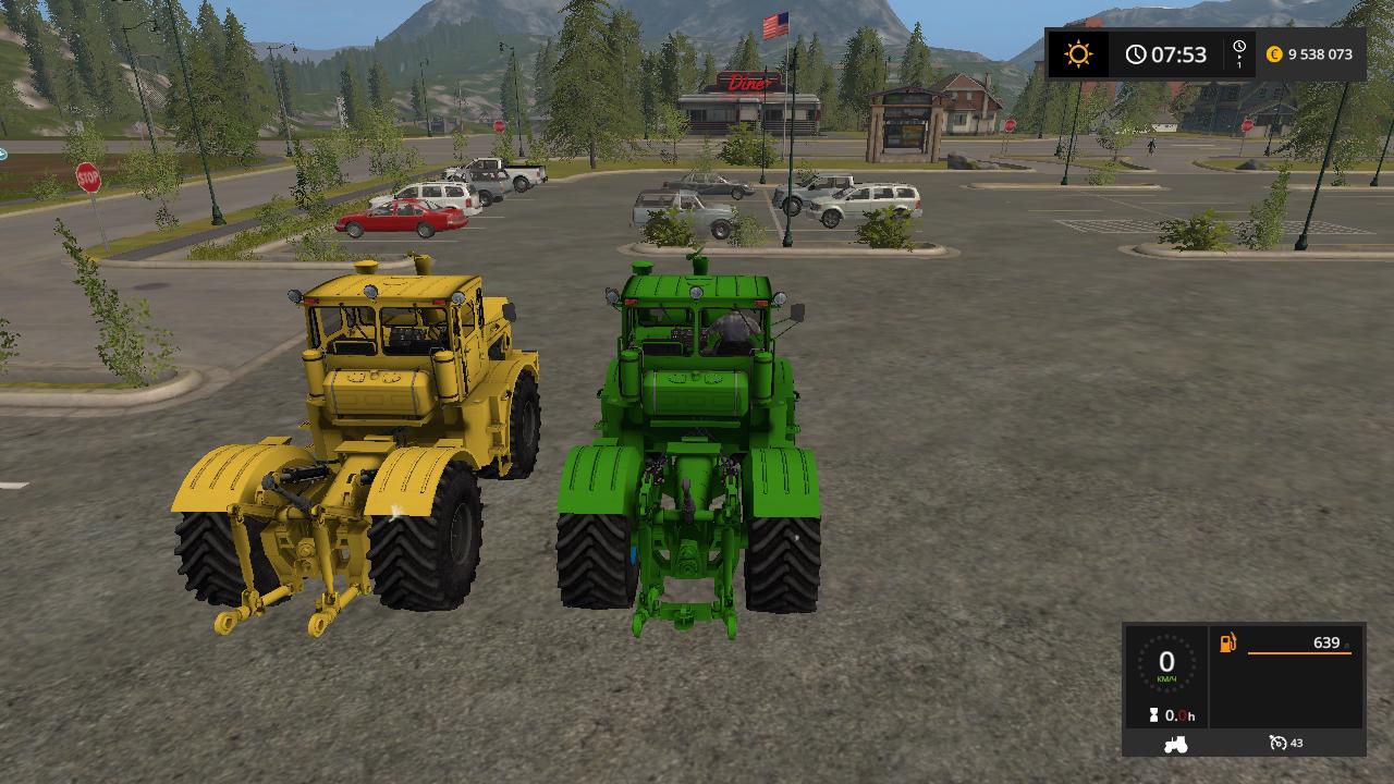 К-700 и 701 - Farming Simulator 17 Мод, Транспорт
