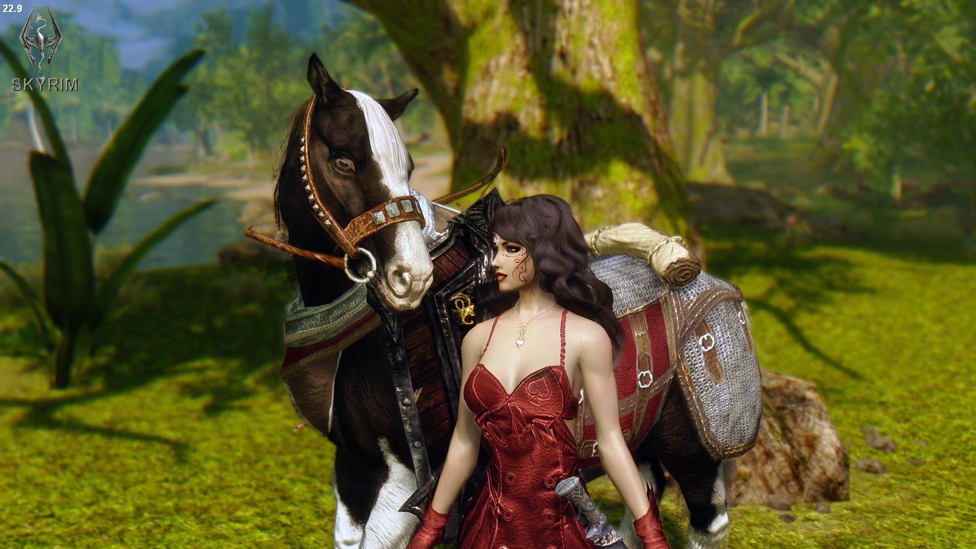 018. Алисса, поехали!.jpg - Elder Scrolls 5: Skyrim, the CBBE, Сборка-21