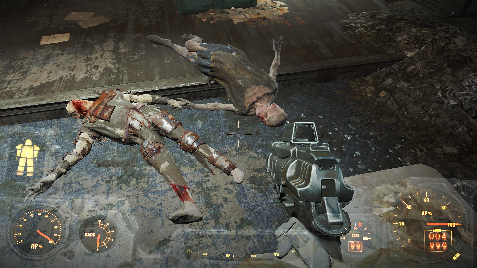 Друзья навеки - Fallout 4 гуль, фар харбор, боулинг бивер-крик