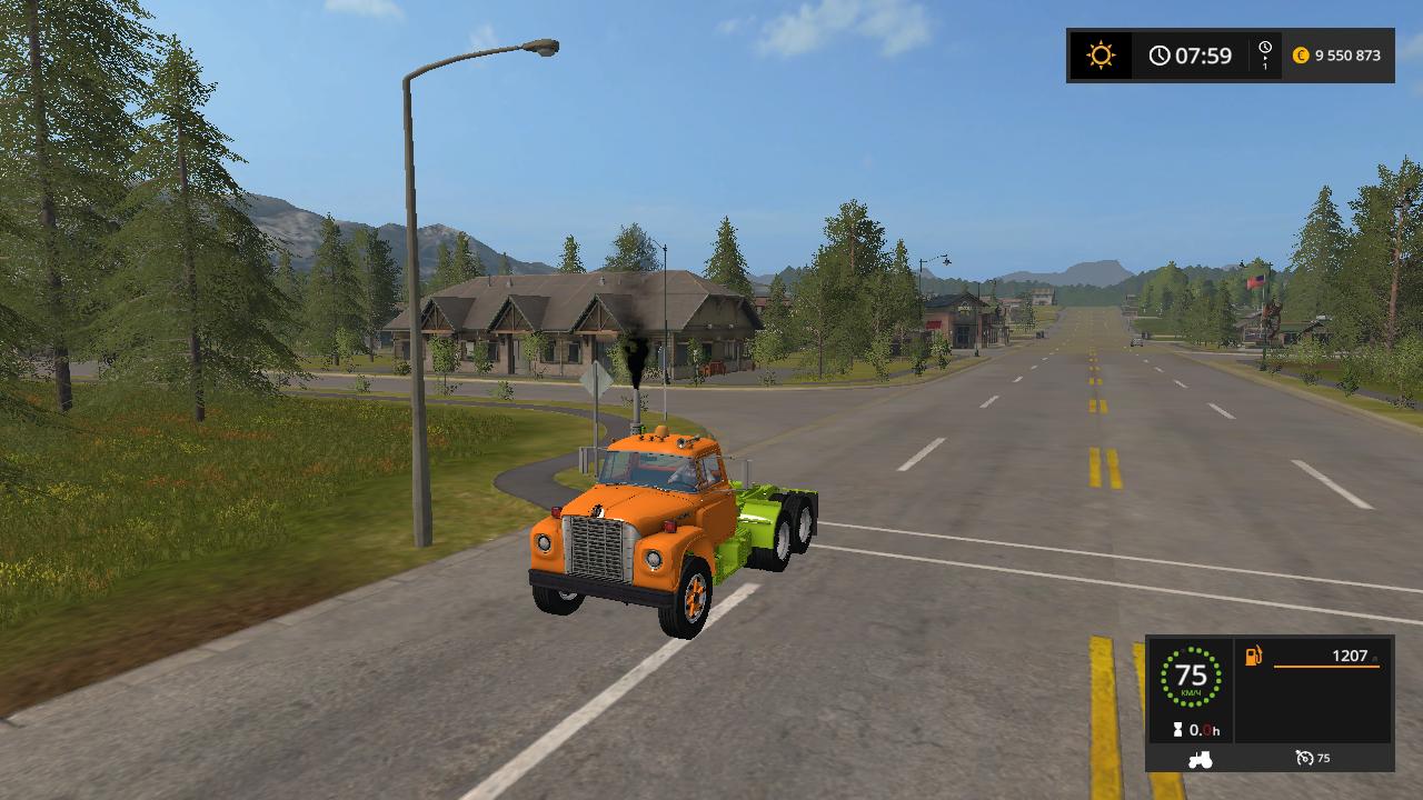 IH LOADSTAR 1850B V1.0 - Farming Simulator 17 Мод, Транспорт