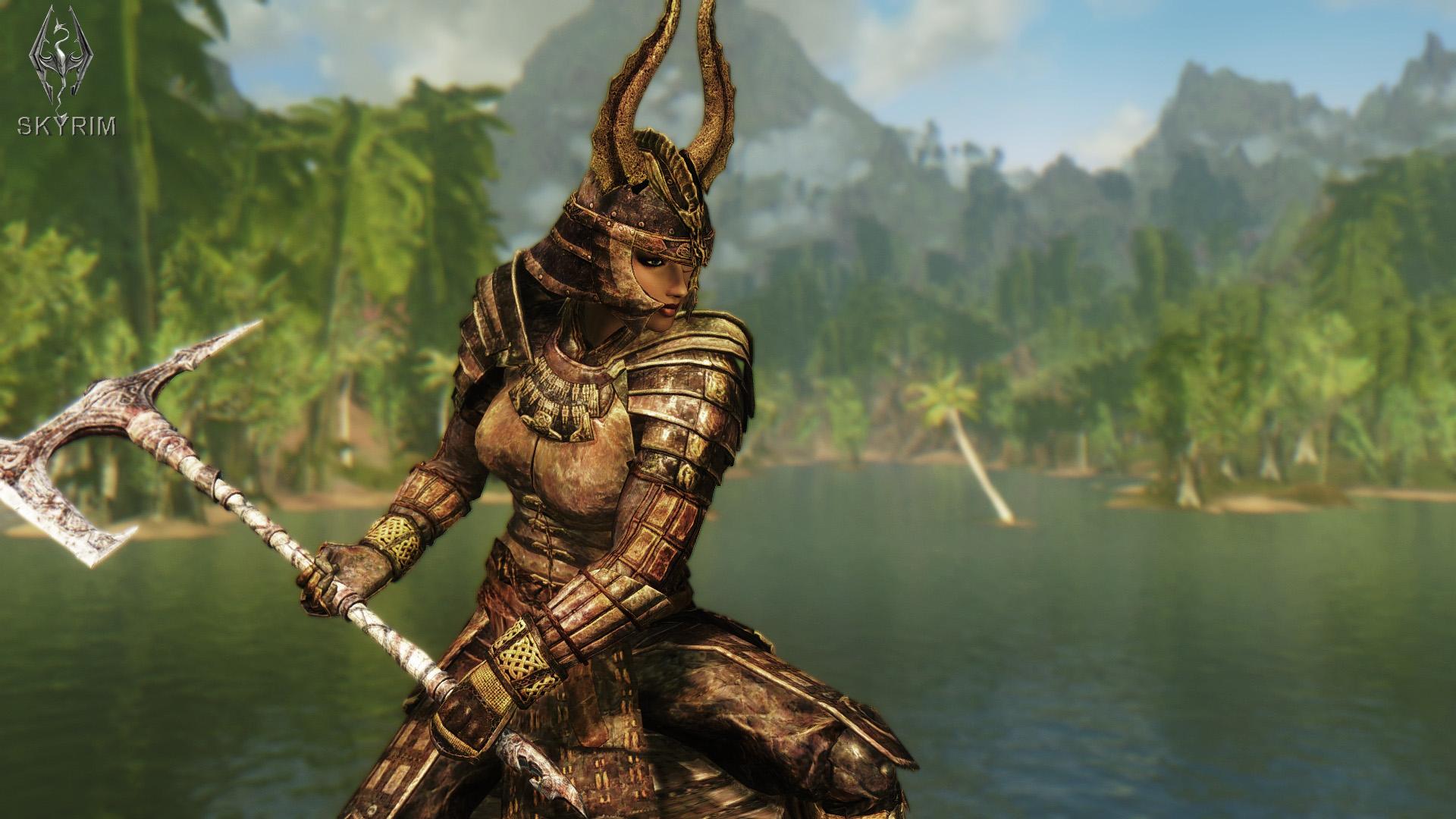 028. Древняя акавирская броня.jpg - Elder Scrolls 5: Skyrim, the CBBE, Сборка-21