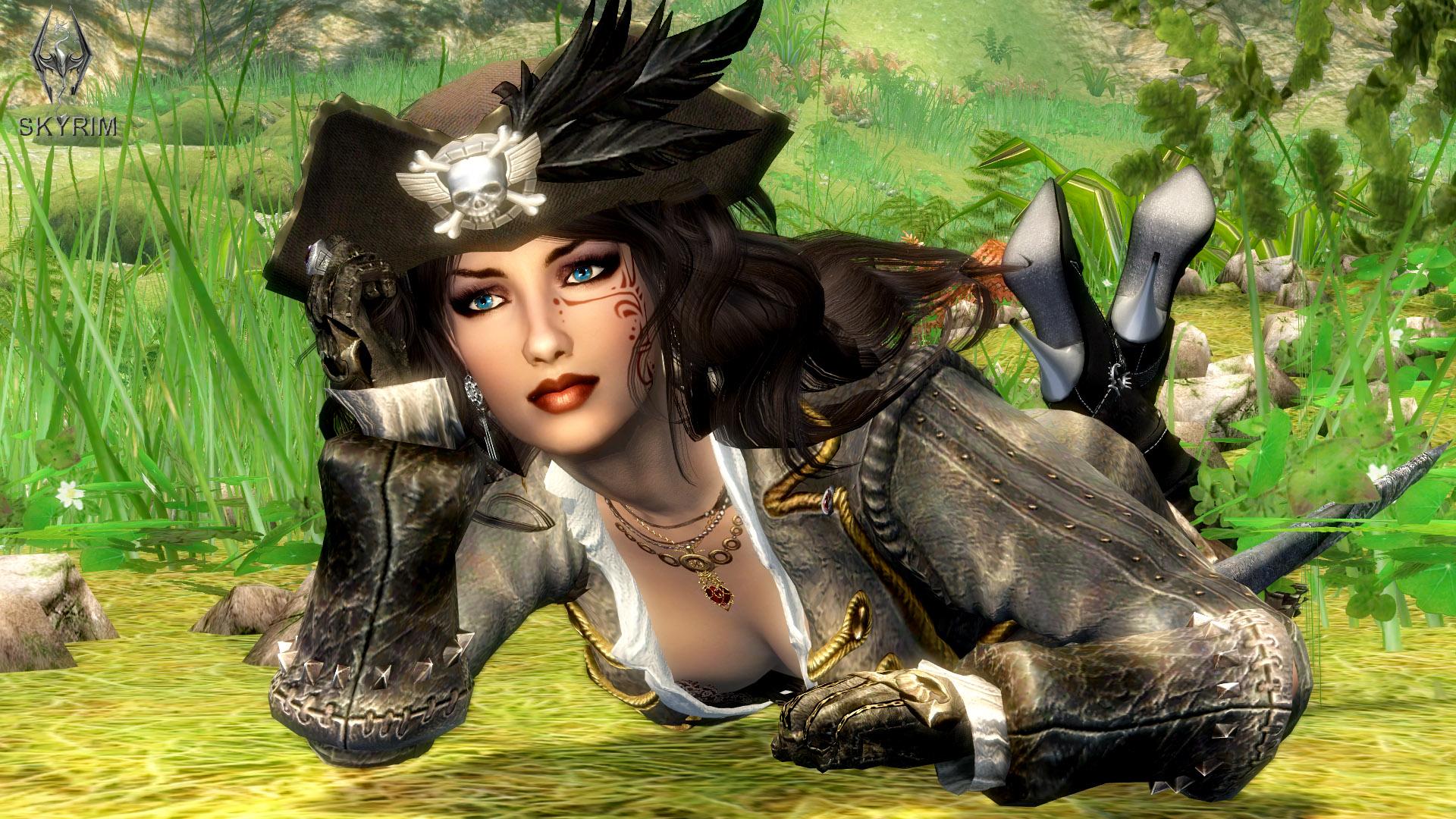 030. Как здесь хорошо.jpg - Elder Scrolls 5: Skyrim, the CBBE, Сборка-21