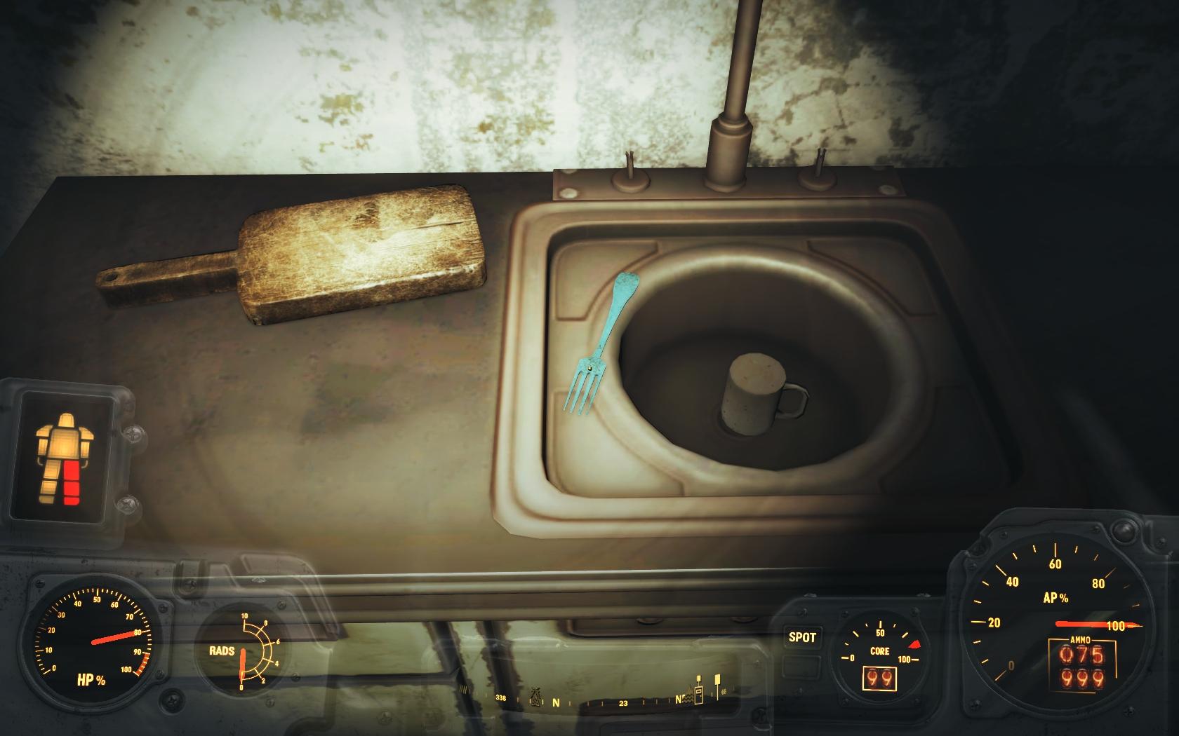 Недоступные предметы (Фар-Харбор, Хэддок-Коув) - Fallout 4 Баг, Недоступный, Хэддок-Коув