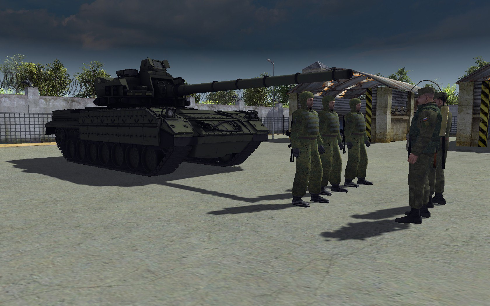Cold War Art (T-95) - Men of War: Assault Squad 2 арт, Мод