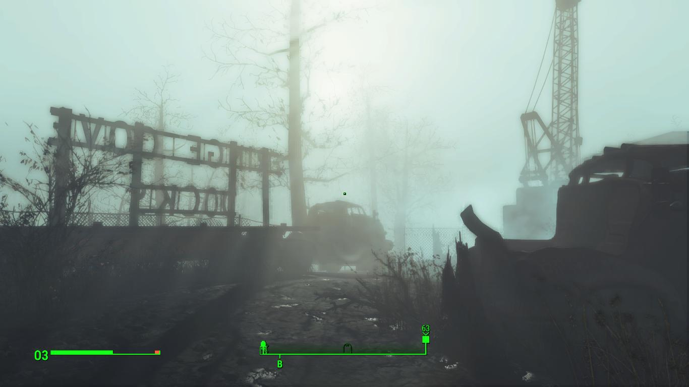 Ляпота - Fallout 4 Туман