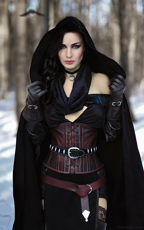 Йеннифэр - Witcher 3: Wild Hunt, the Maria Hanna, косплей, Персонаж