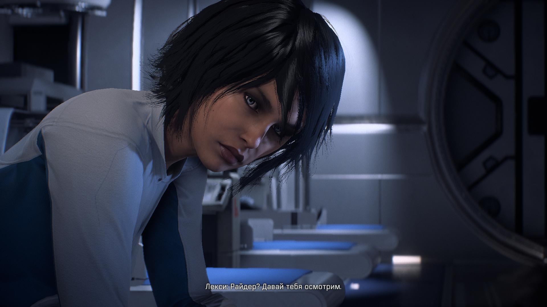 Сара Райдер - Mass Effect: Andromeda Лицо, Персонаж