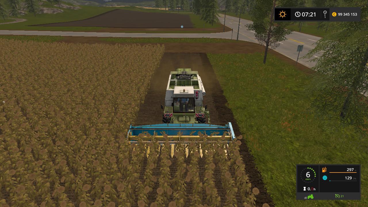 FORTSCHRITT E516 PACK V 1.1 - Farming Simulator 17 Жатка, Мод