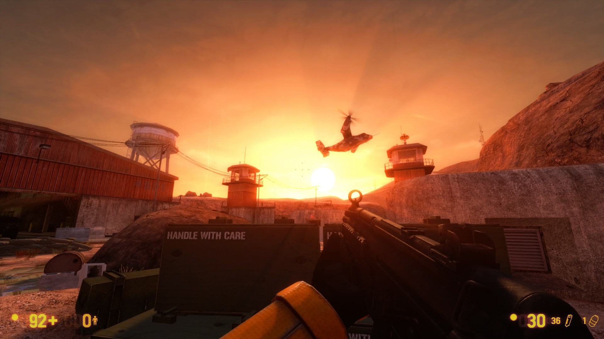 BM:Геймплей - Black Mesa Гордон Фримен, Чёрная меза