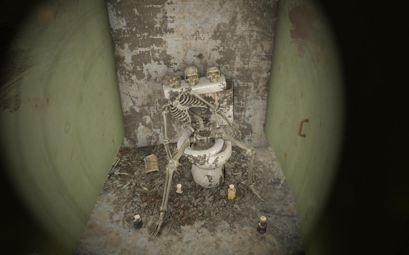 Ритуал? (Фар-Харбор, Ядро) - Fallout 4 скелет, Ядро