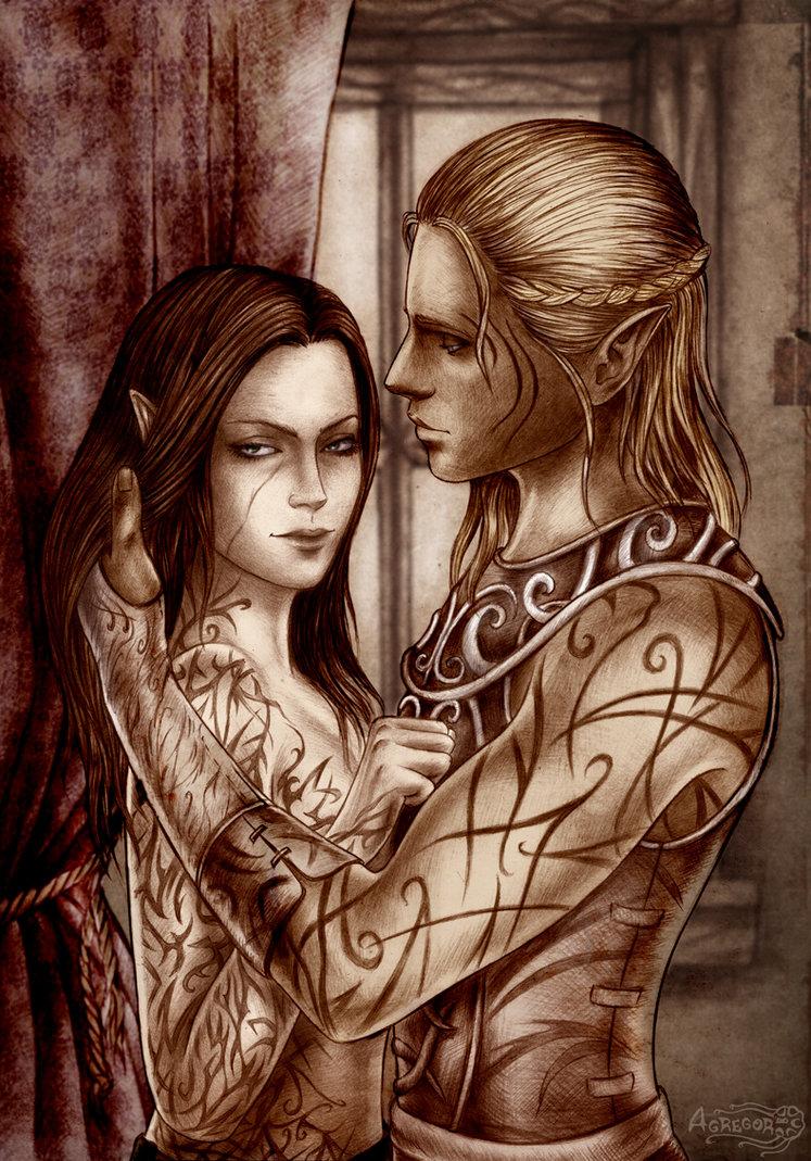 Романтика - Dragon Age: Origins