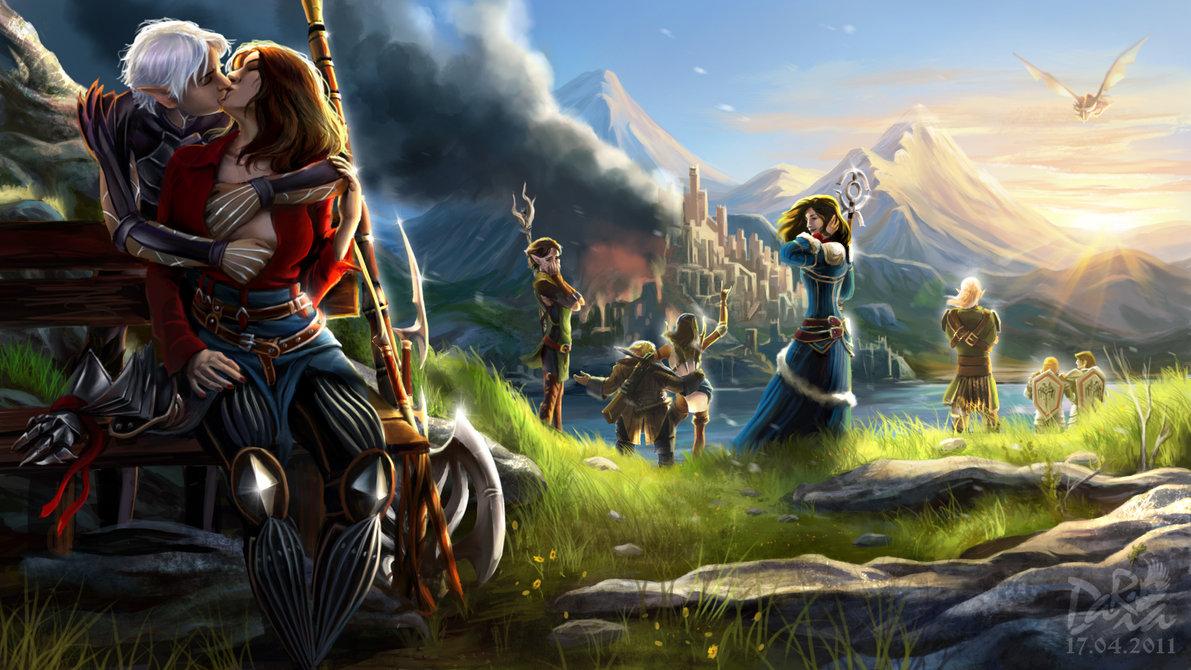 Романтика - Dragon Age 2
