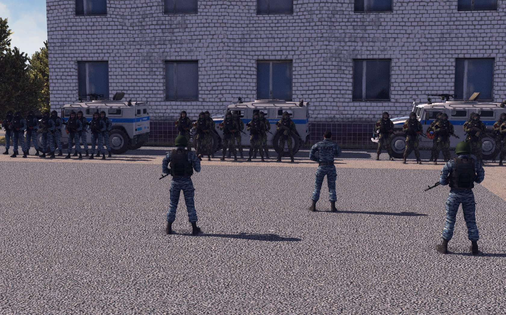 Cold War Art - Men of War: Assault Squad 2 Мод