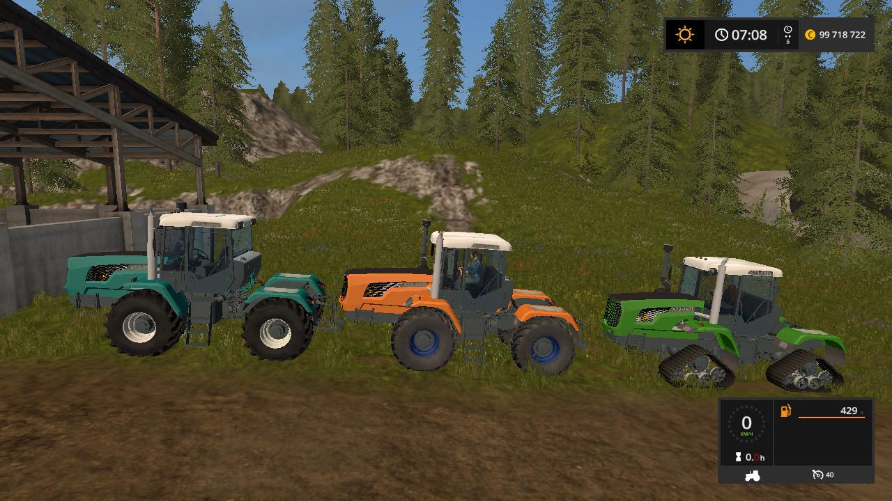 Трактор - Farming Simulator 17 Моды, Транспорт