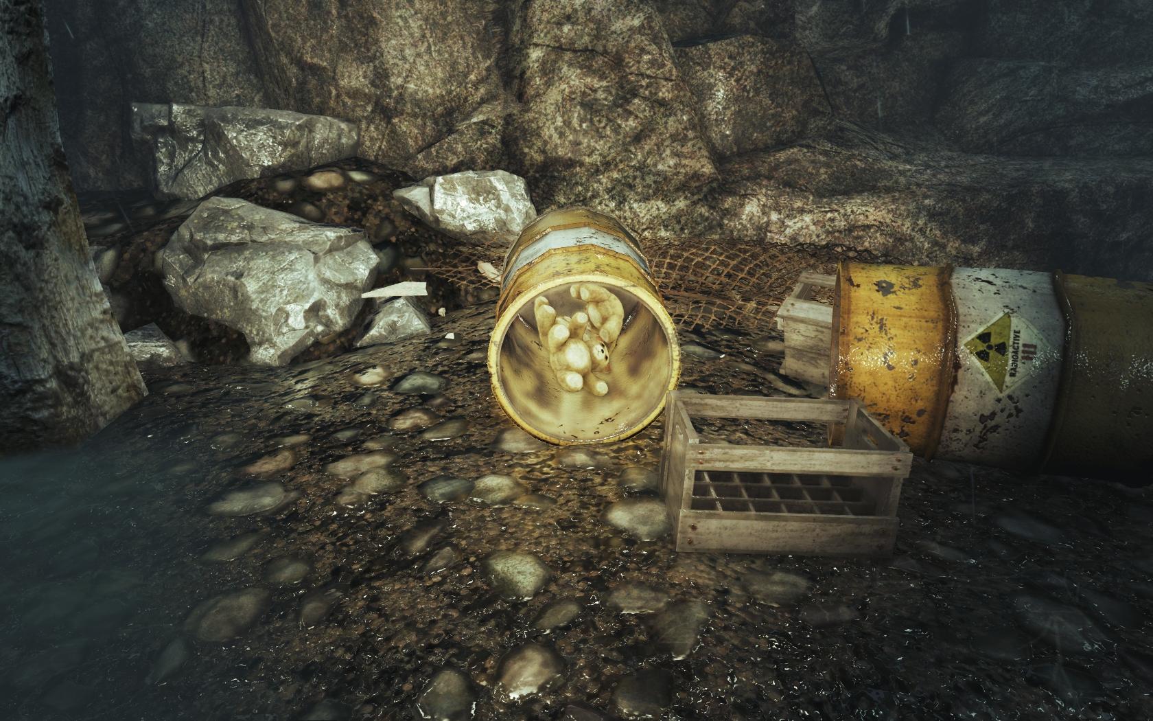 Радиоактивные мишки (Фар-Харбор, Остров Охотницы) - Fallout 4 Остров, Остров Охотницы, Охотница