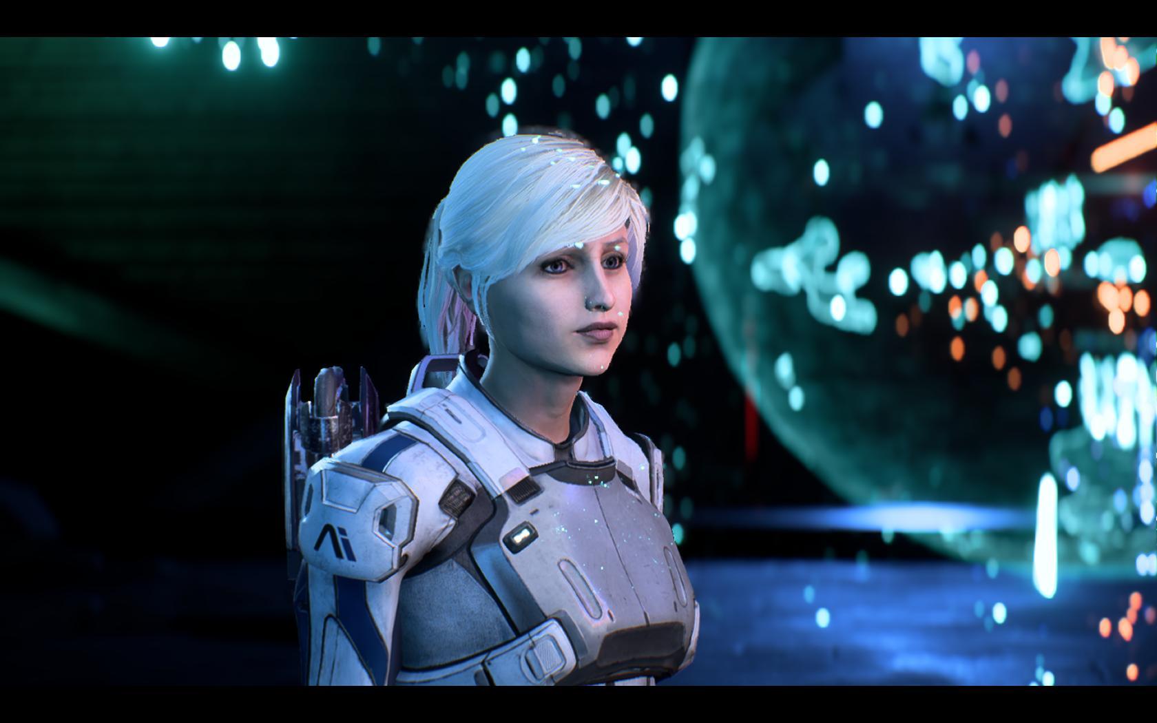 Скрины Mass Effect: Andromeda - Mass Effect: Andromeda Hamster, Ryder, Sara, Хомяк, Хомячок