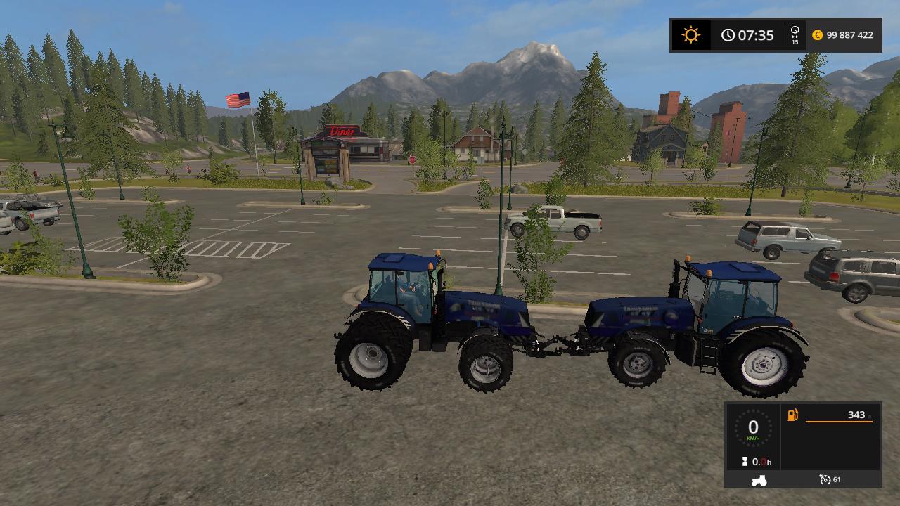 BELARUS 3022 DC MTZ V1.0 - Farming Simulator 17 Моды