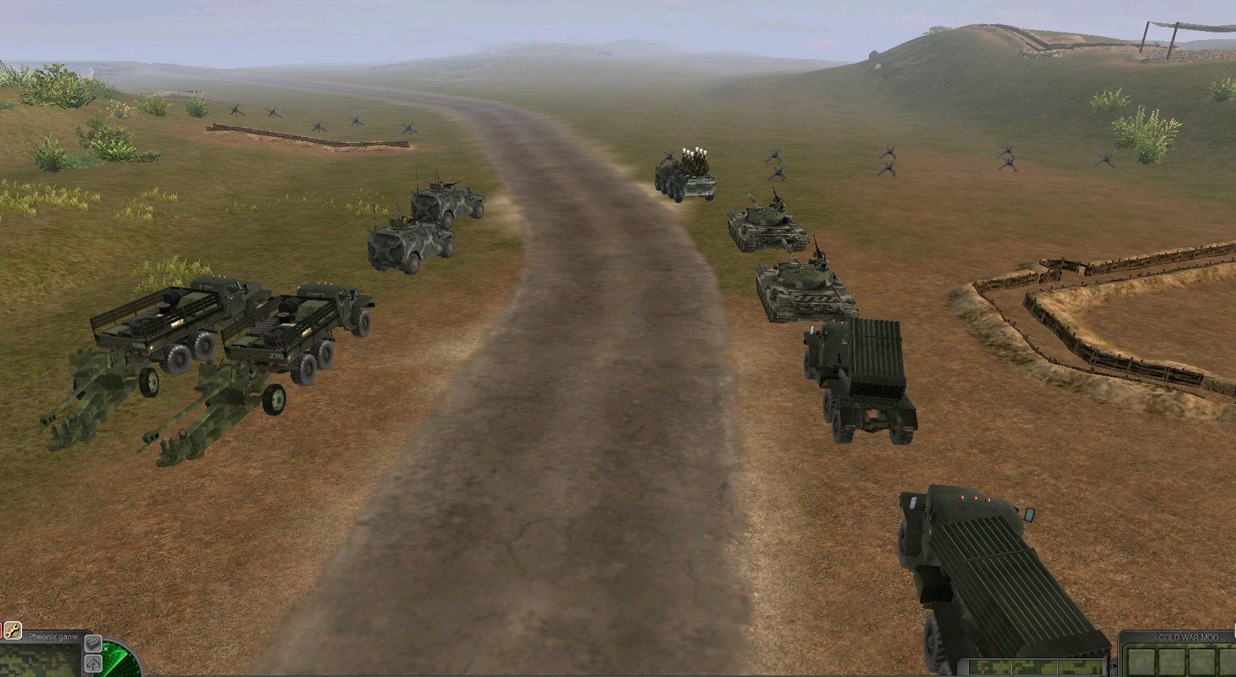 Cold War Art - Men of War: Assault Squad 2 Моды