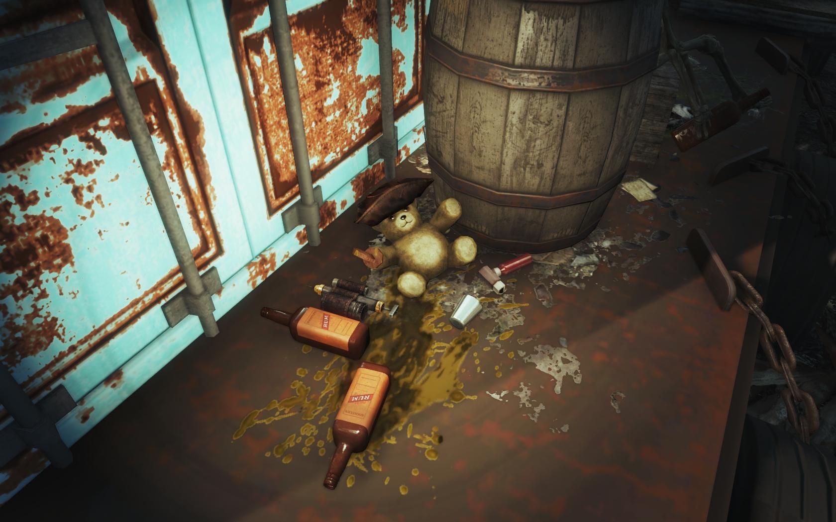 Мишка решил оторваться (Фар-Харбор, Азалия) v2 - Fallout 4 Азалия, юмор