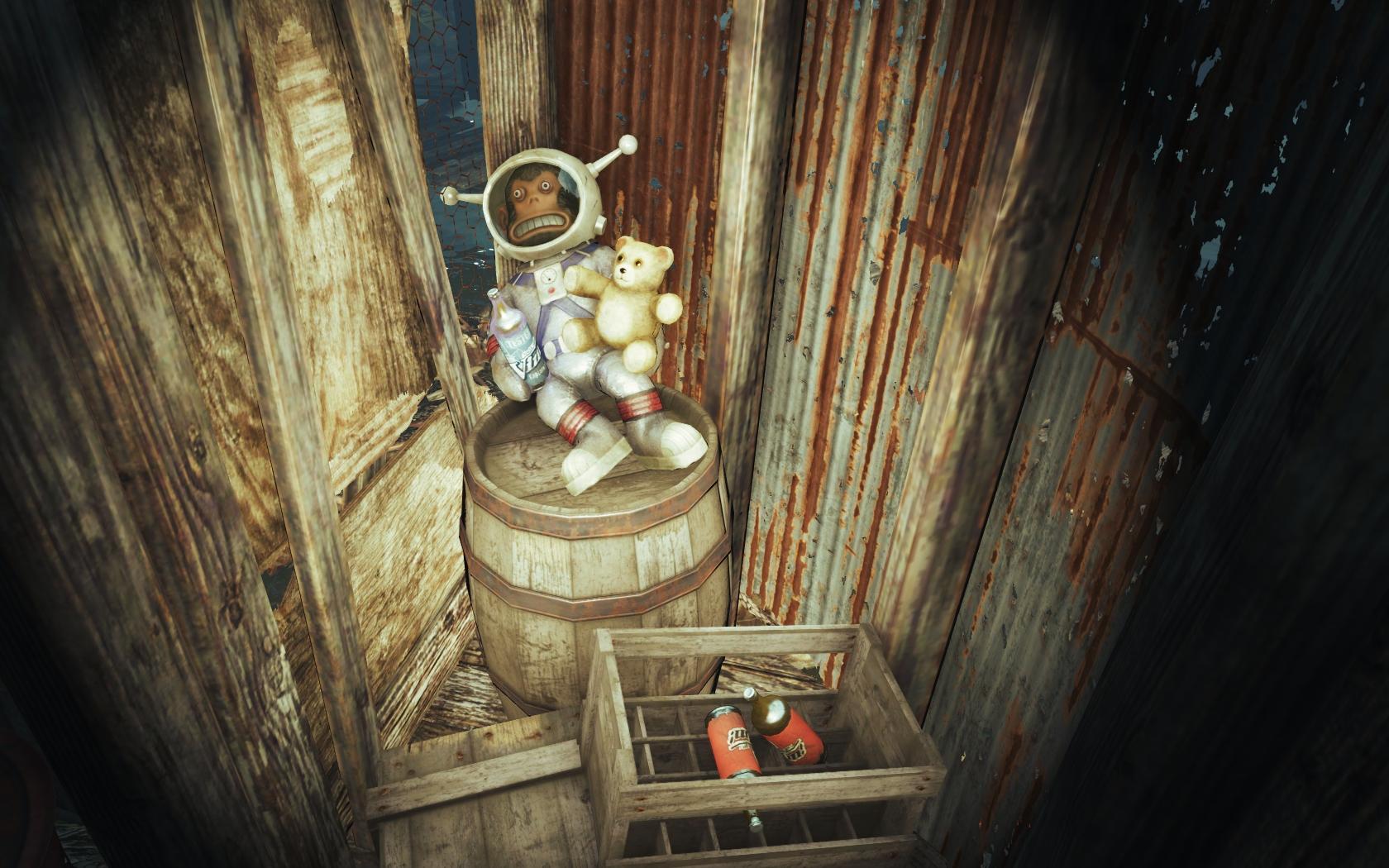 Сладкая парочка (Фар-Харбор, Азалия) v2 - Fallout 4 Азалия, Лунная, мартышка
