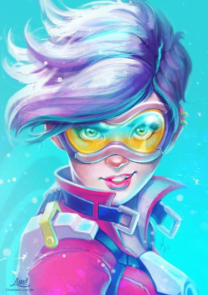 Трейси - Overwatch Персонаж