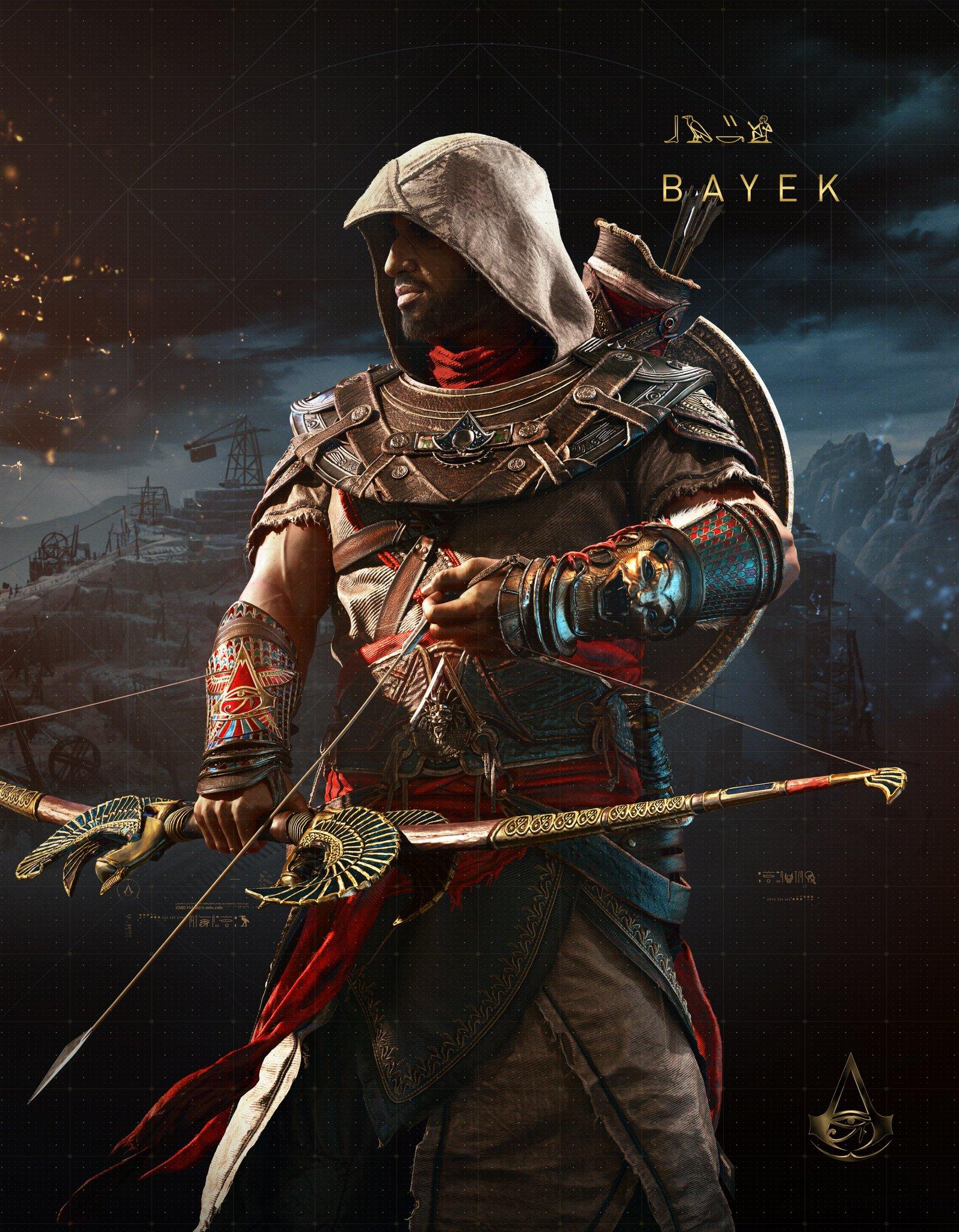 Assassin's Creed: Origins - Bayek - Assassin's Creed: Origins Арт