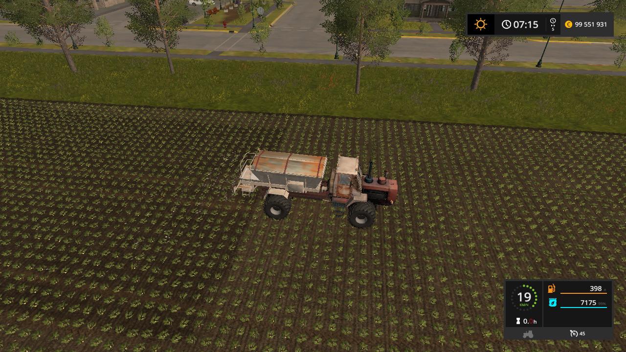 Трактор - Farming Simulator 17 Мод, Транспорт