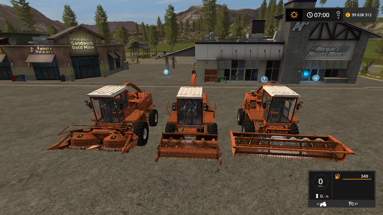 сельхозтехника - Farming Simulator 17 Жатка, Моды