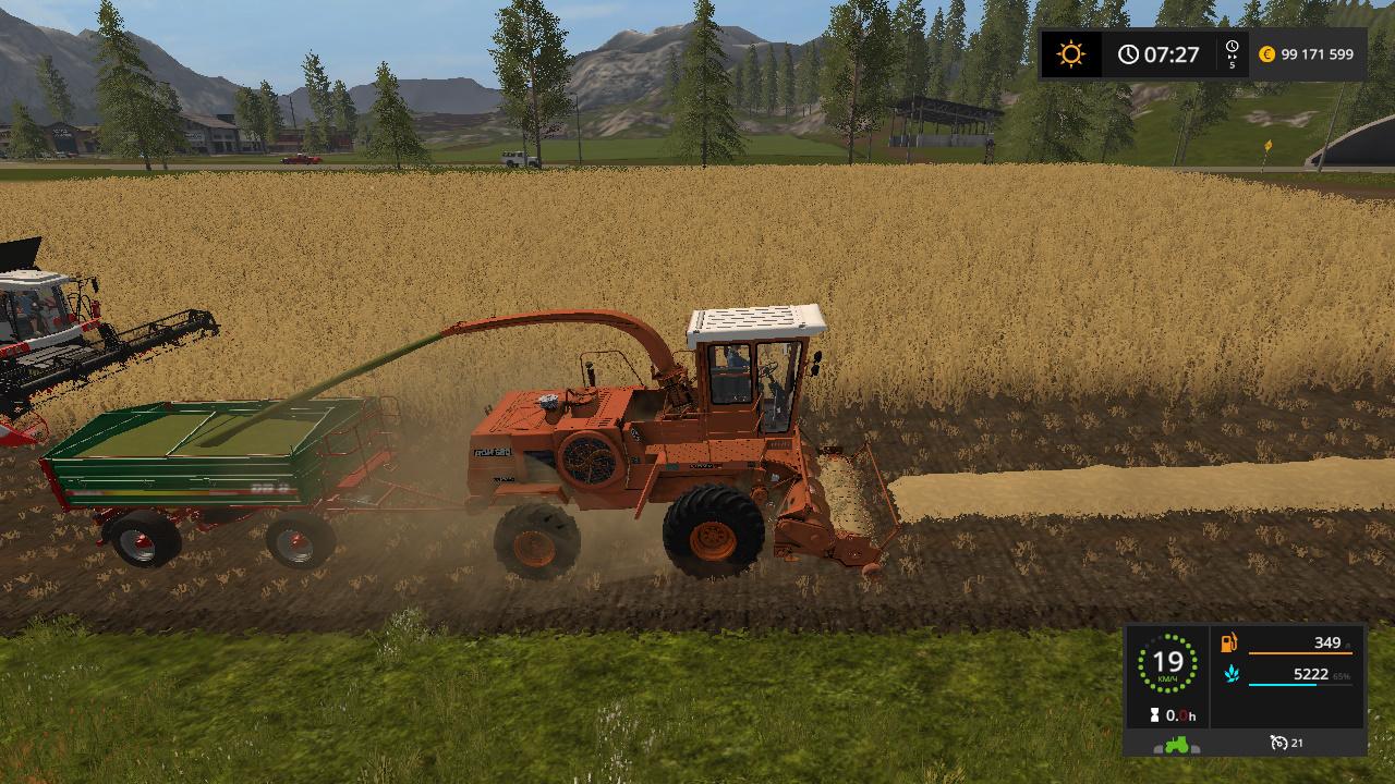 сельхозтехника - Farming Simulator 17 Жатка, Мод