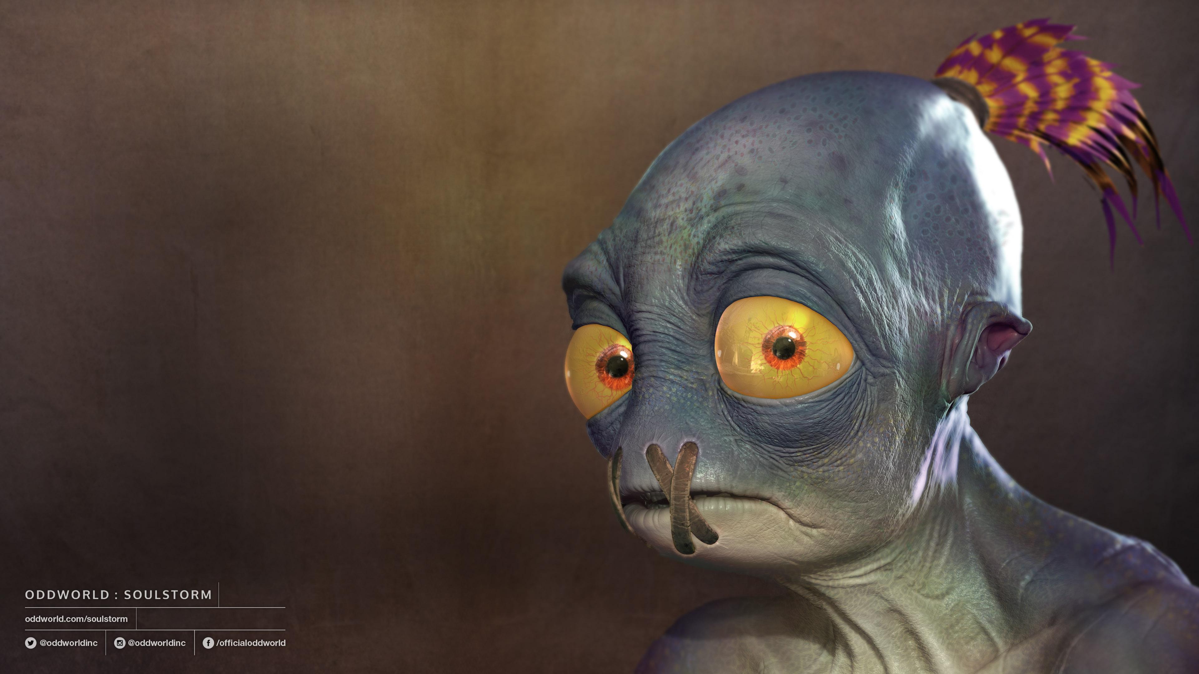 Mudokon: Abe - Oddworld: Soulstorm 4K