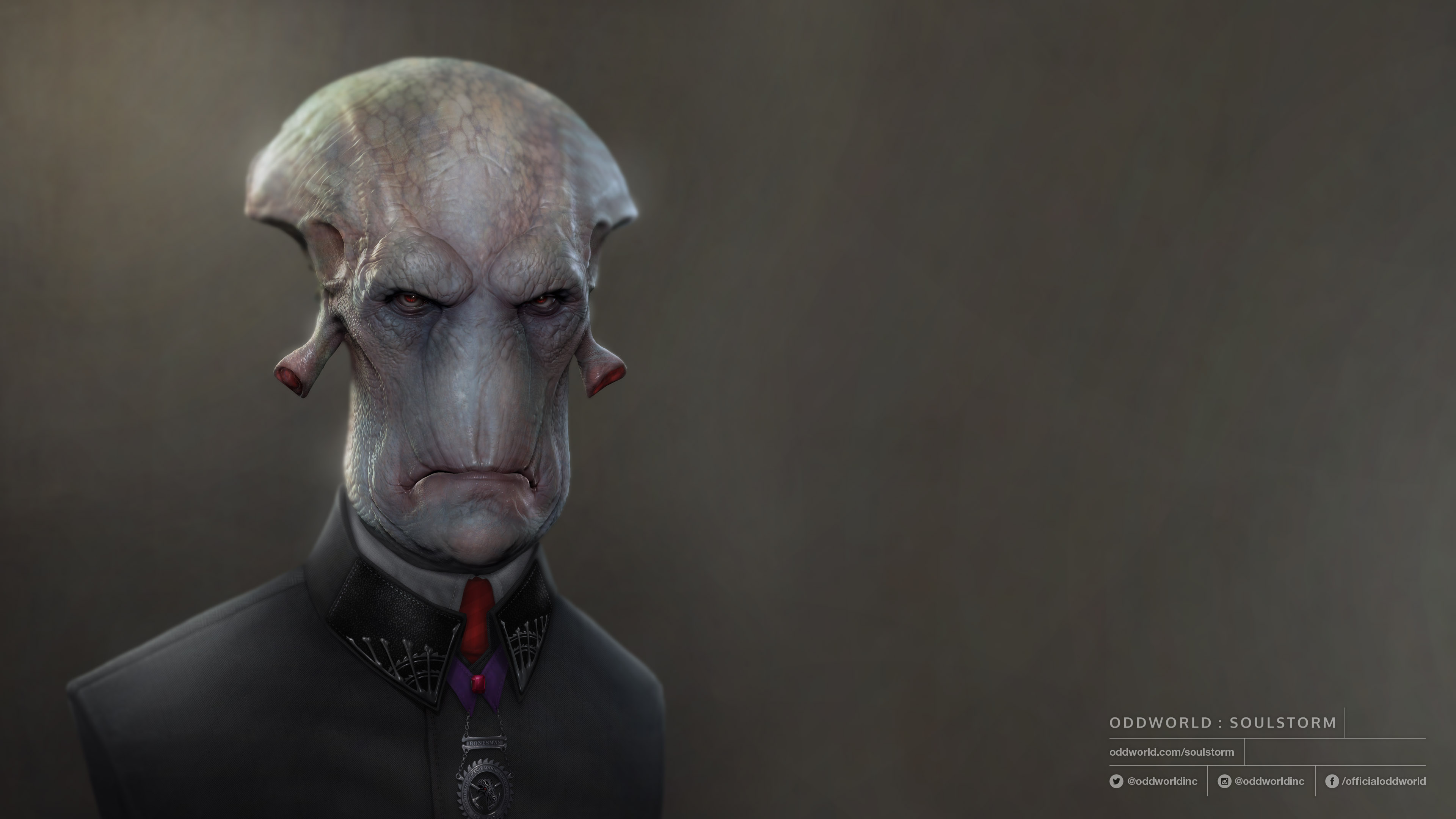 Glukkon 2 - Oddworld: Soulstorm 4K