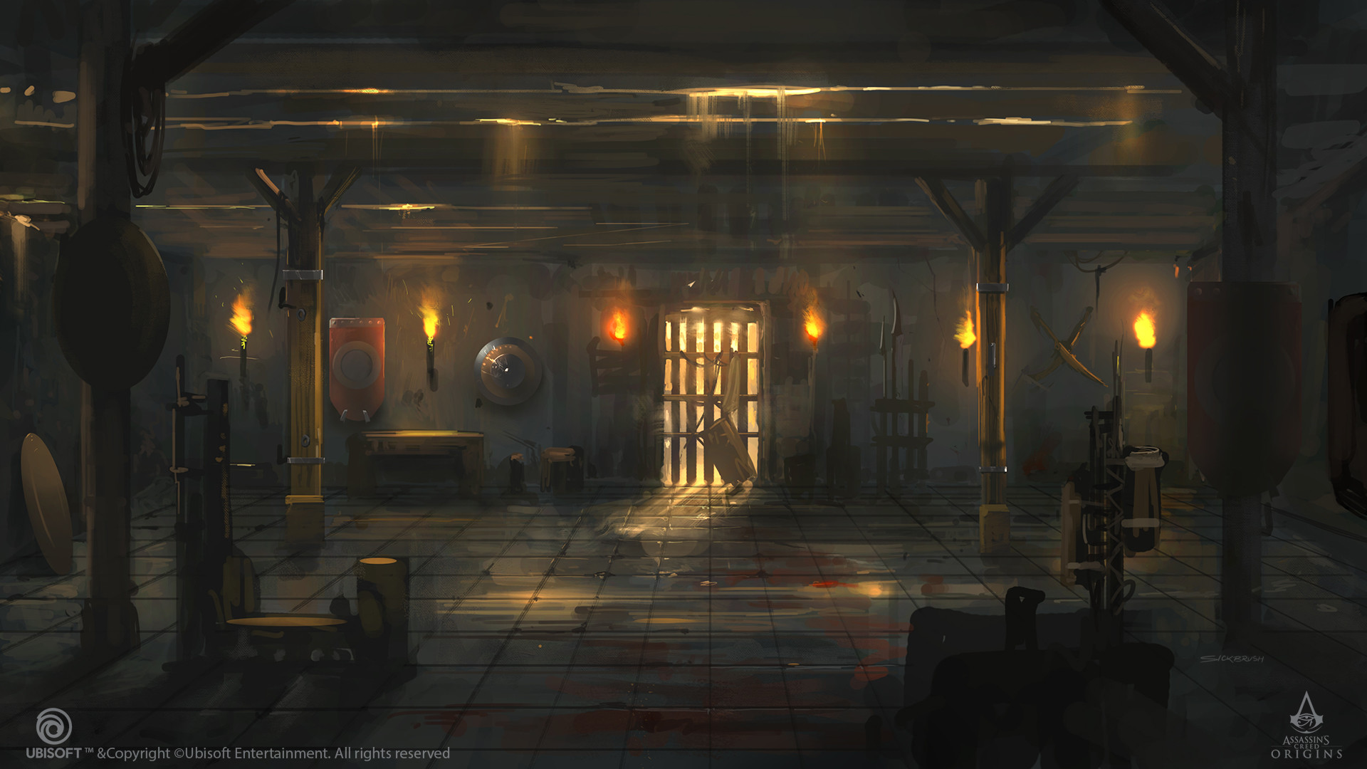 Assassin's Creed: Origins - Концепт-арт - Assassin's Creed: Origins Арт