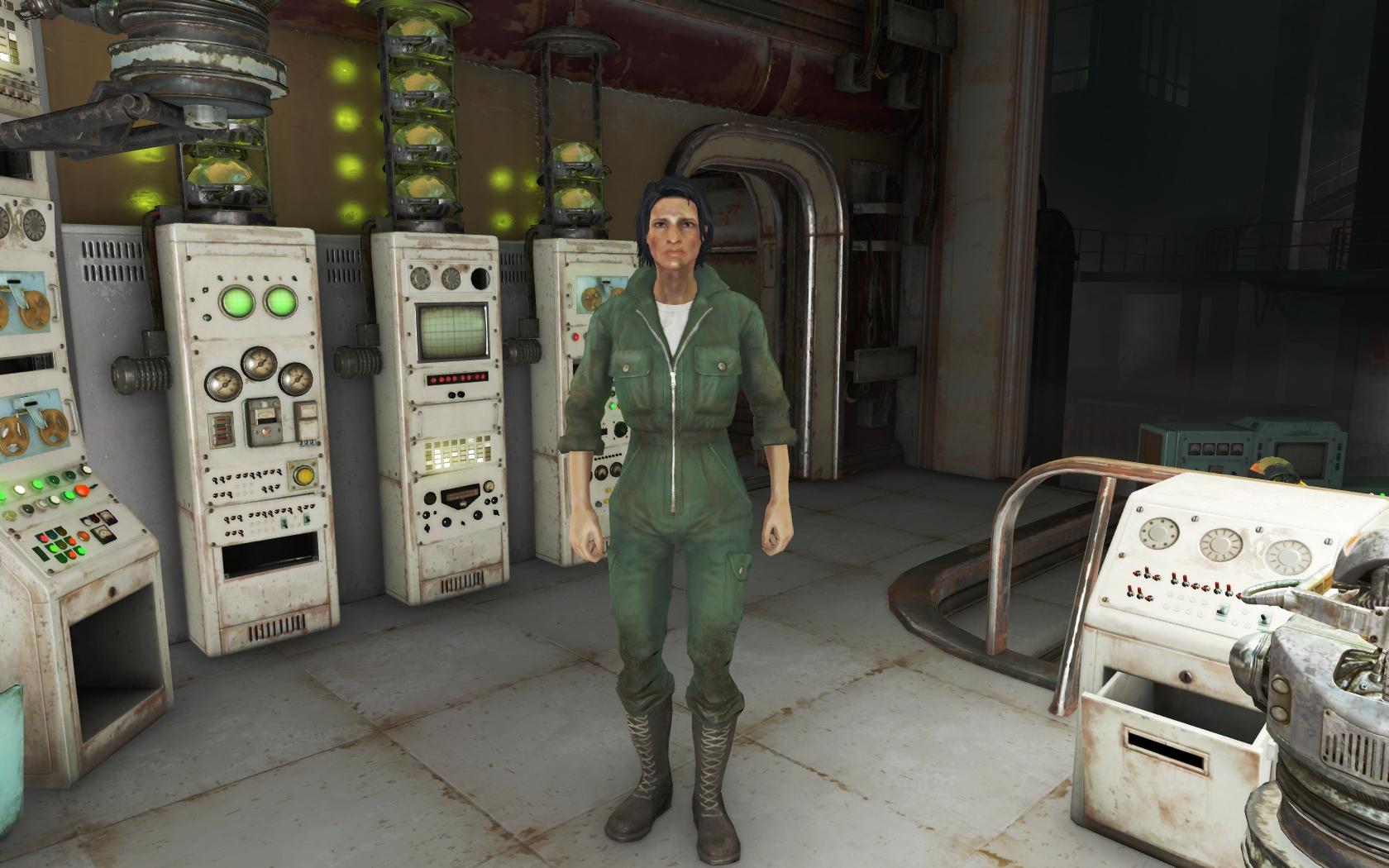 Иcабель Крус (Логово Механиста) - Fallout 4 Иcабель, Иcабель Крус, Крус, Логово Механиста, Механист