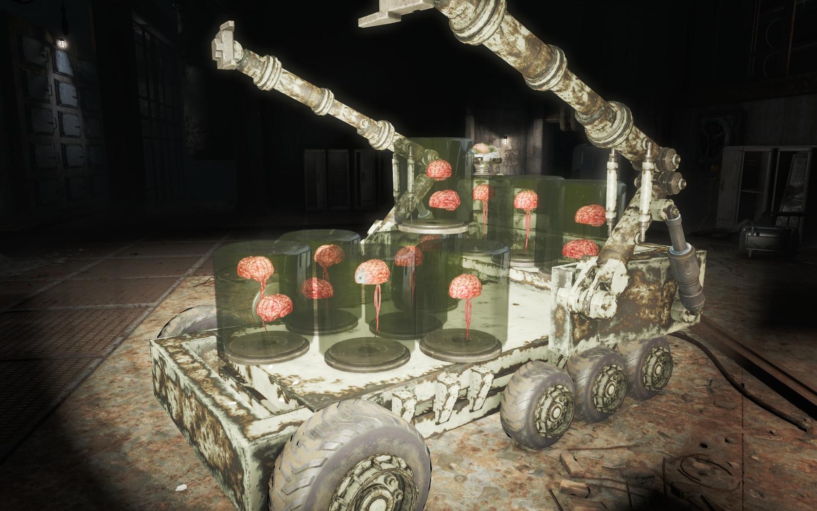 Мозгоферма (Логово Механиста) - Fallout 4 Логово Механиста, Механист
