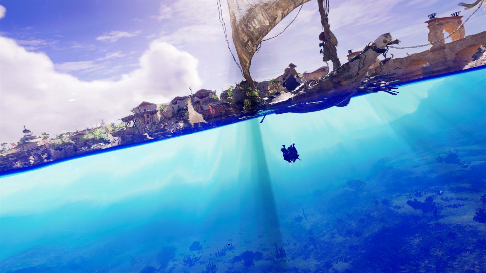 Под водой - Assassin's Creed: Origins Александрия