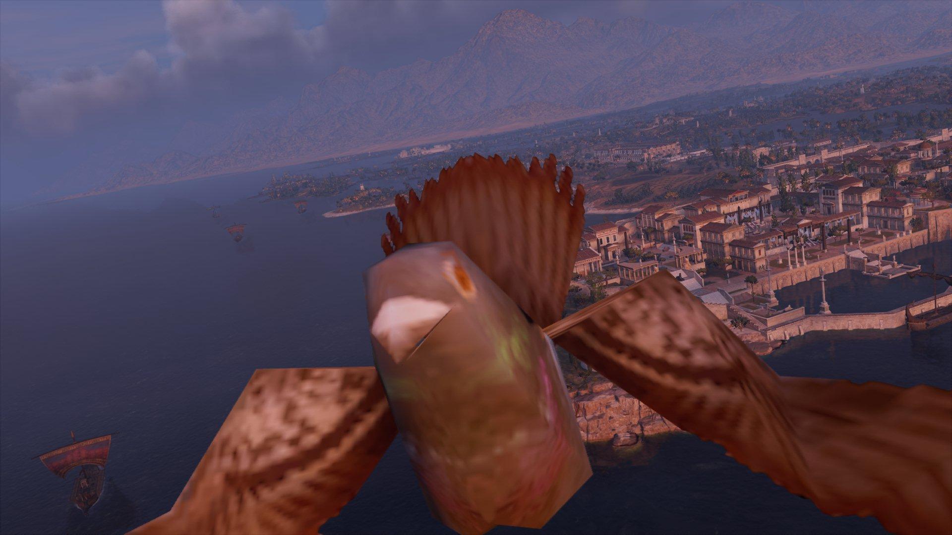 Чёт орнул на маяке - Assassin's Creed: Origins Александрийский маяк