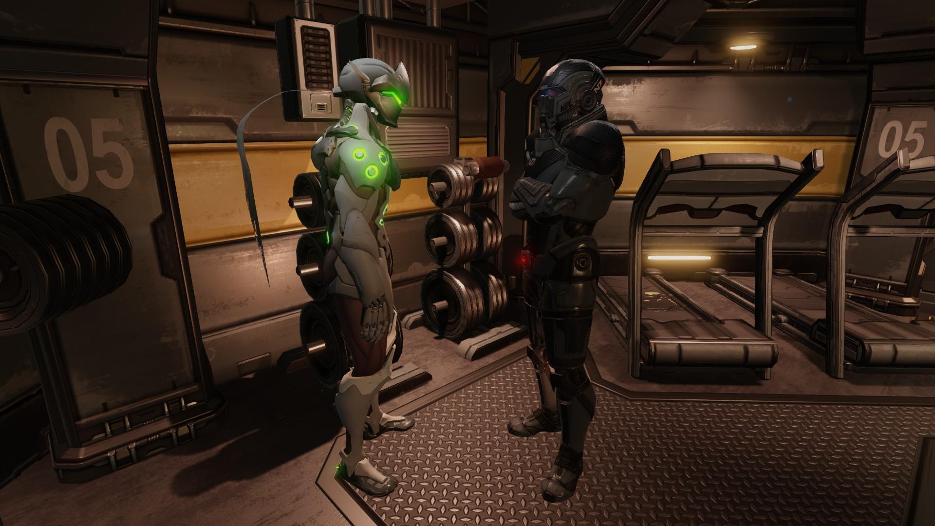 XCOM 2 Andromeda Armor Pack - XCOM 2 Мод
