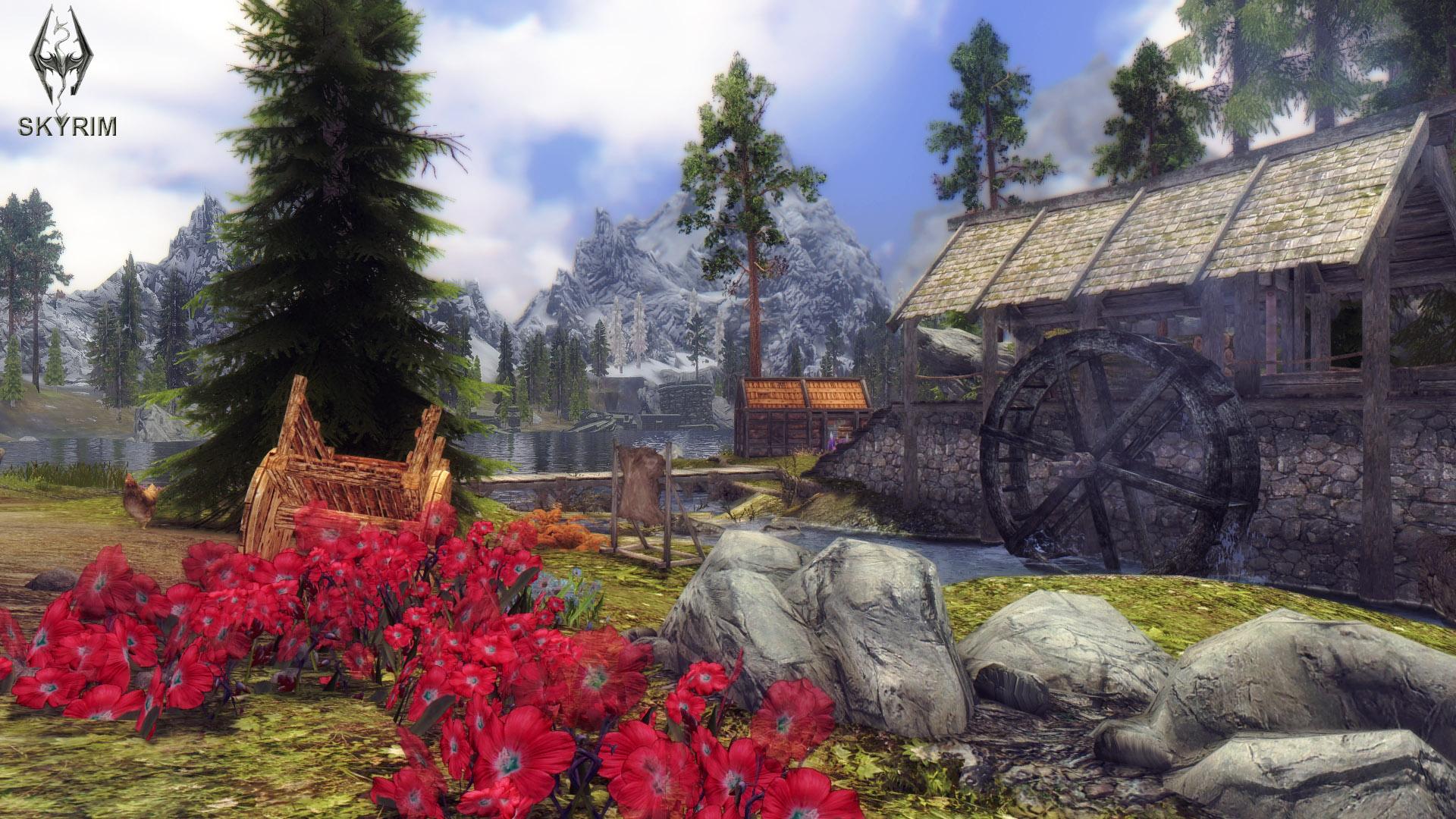 070. Полулунная лесопилка.jpg - Elder Scrolls 5: Skyrim, the CBBE, Сборка-21