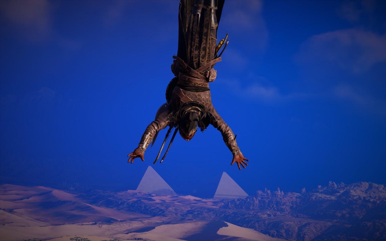 Инсталляция. Я и пирамиды. - Assassin's Creed: Origins