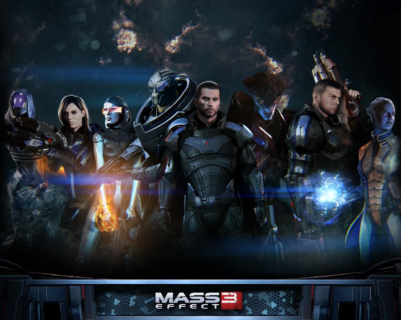 Art - Mass Effect 3 Арт