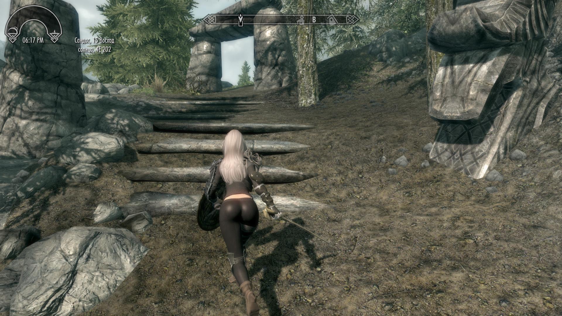 Героиня ракурс 7 - Elder Scrolls 5: Skyrim, the