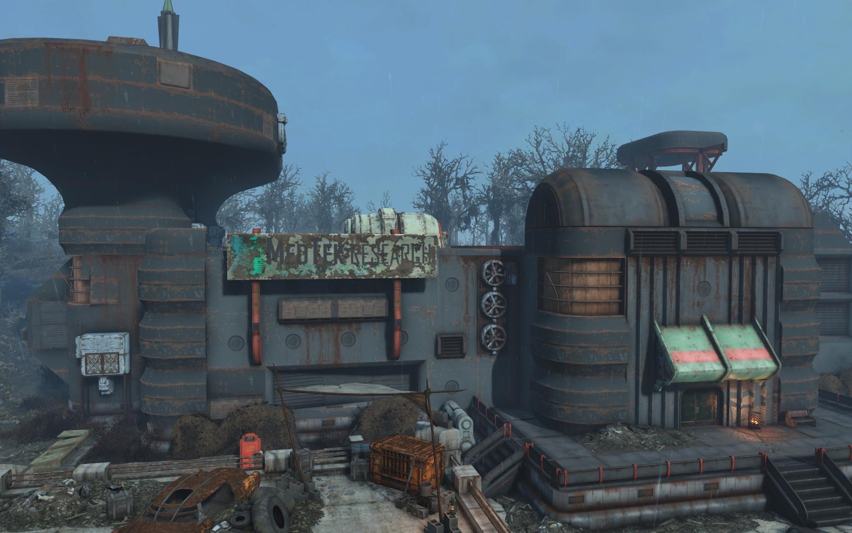 Мед-Тек Рисёрч - Fallout 4 Мед-Тек Рисёрч