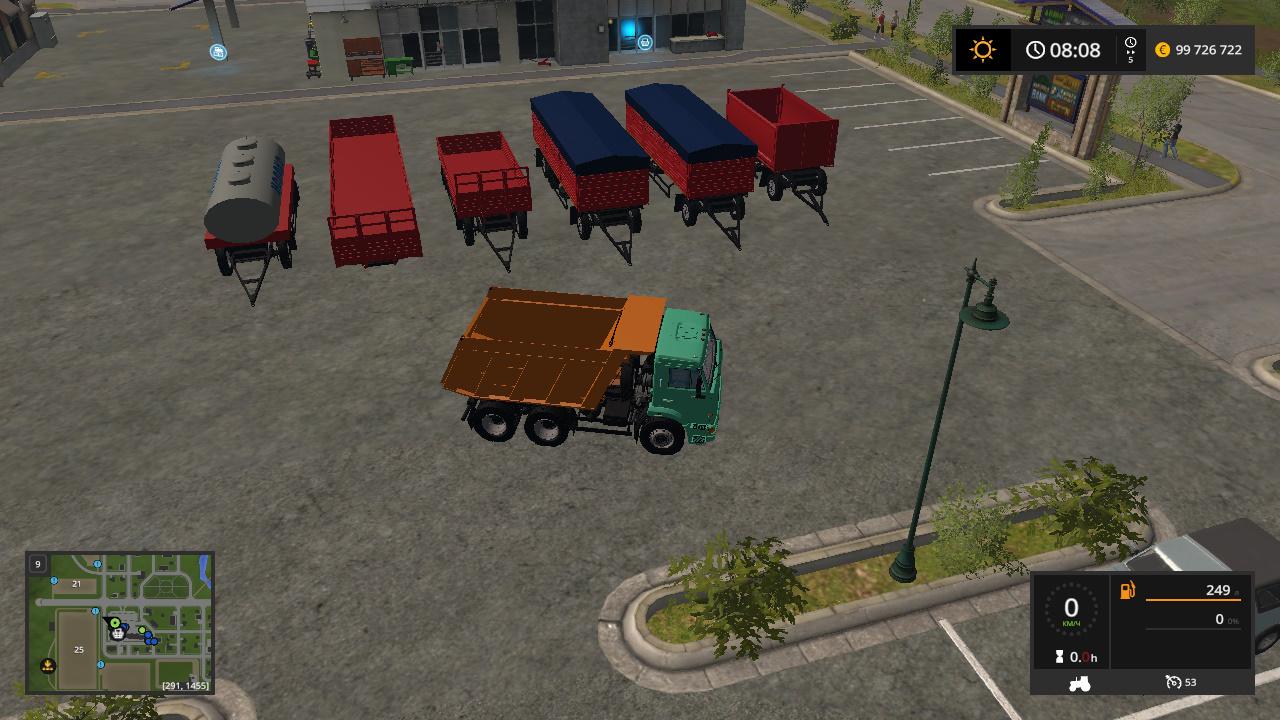 Тягач - Farming Simulator 17 полуприцепы, Транспорт