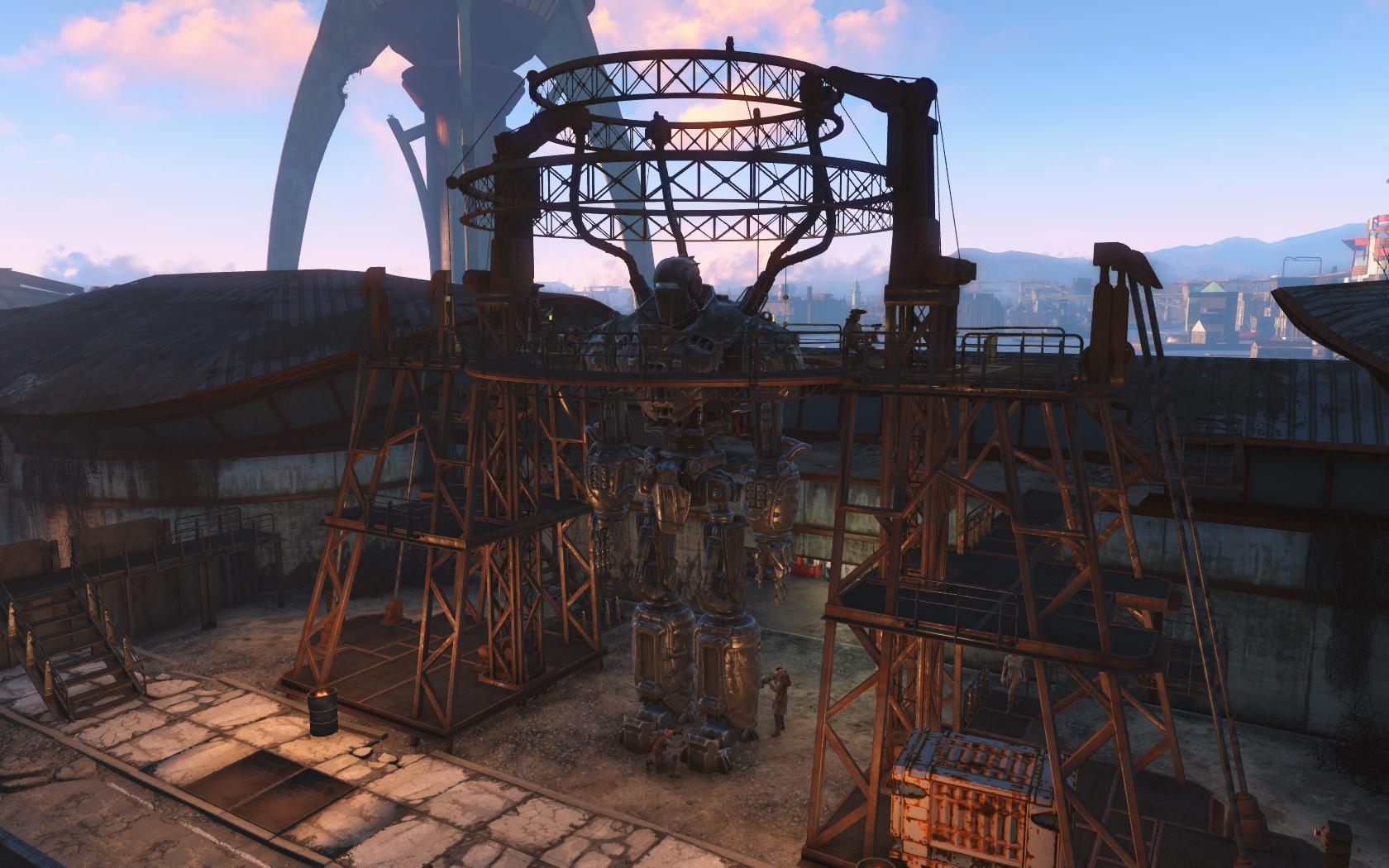 Либерти Прайм - Fallout 4 Братство, Братство Стали, Либерти Прайм