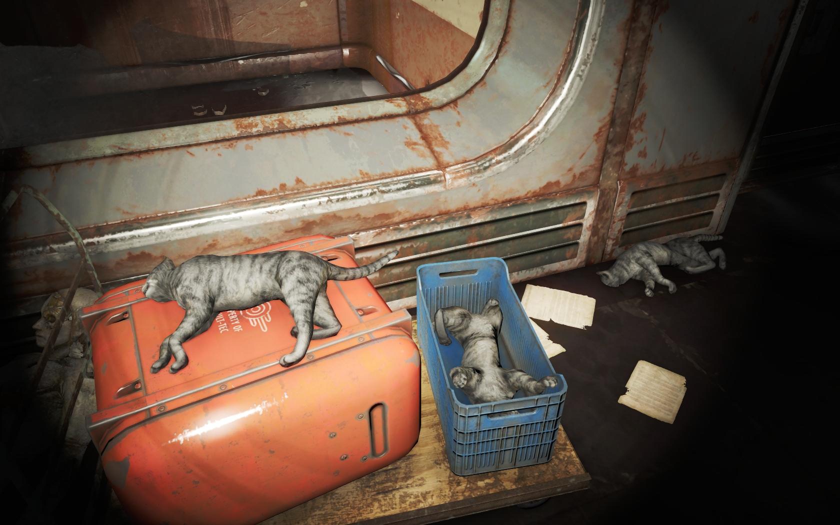 Тщательно скрываемая сторона Института #2 (Лаборатория ВРЭ Института) v2 - Fallout 4 ВРЭ, Лаборатория, Лаборатория ВРЭ