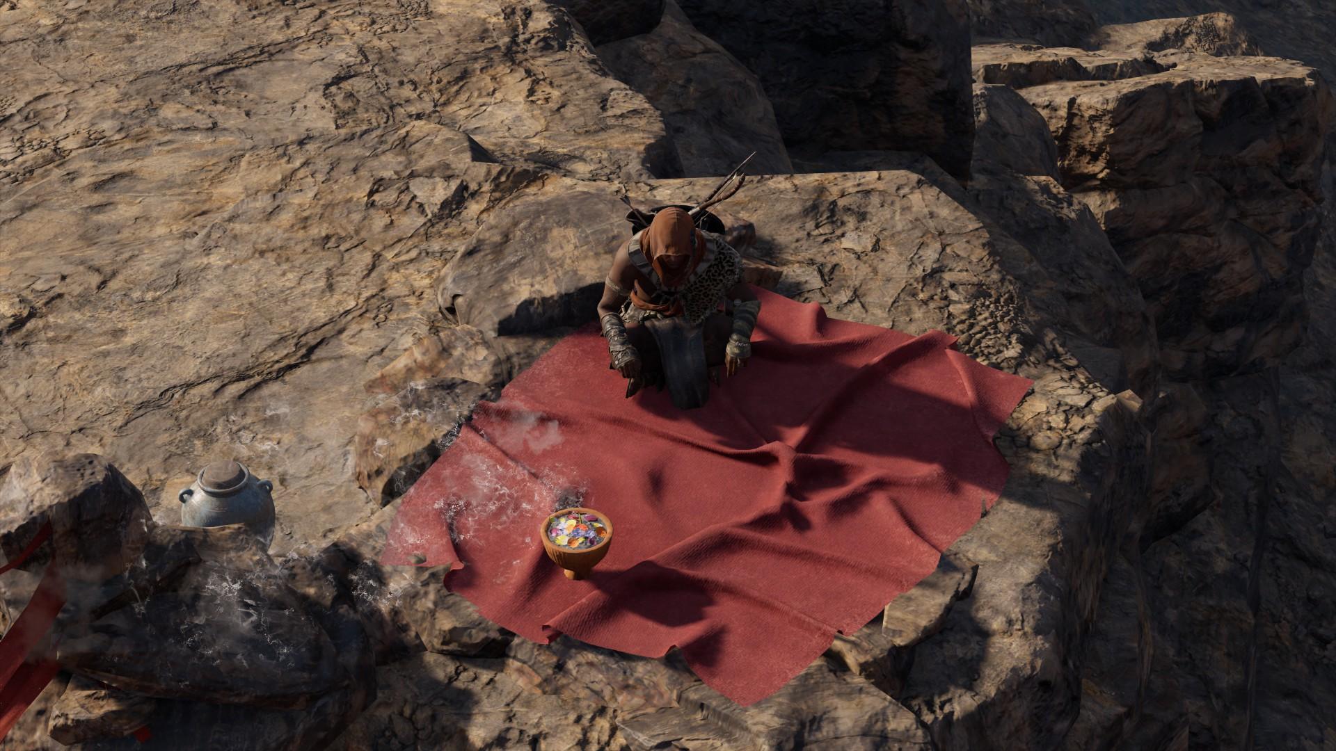 На вершине горы - Assassin's Creed: Origins