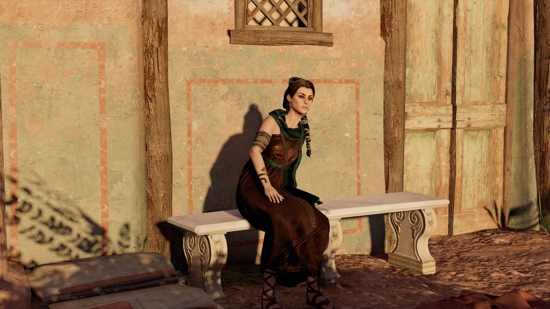 Целительница Праксилла - Assassin's Creed: Origins